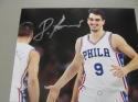 Dario Saric Philadelphia 76ers Signed 8x10 Photo COA 3