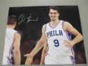 Dario Saric Philadelphia 76ers signed 11x14 photo COA