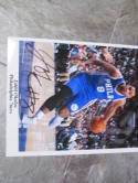 Jahlil Okafor Philadelphia 76ers Signed 8x10 Photo COA 3