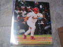 JD Drew St Louis Cardinals  Signed 16x20 Photo COA MLB Auth