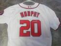 Daniel Murphy Washington Nationals Signed Replica Jersey COA