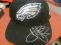 Troy Vincent Philadelphia Eagles Signed Fitted Hat COA