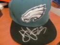 Troy Vincent Philadelphia Eagles Signed Fitted Hat COA 2