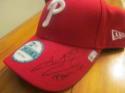 Jeanmar Gomez Philadelphia Phillies Signed Hat MLB Authenticated
