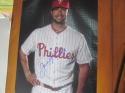 Daniel Nava Philadelphia Phillies Signed 8x10 Photo  COA 2