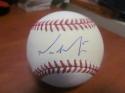 Michael Saunders Philadelphia Phillies Signed MLB Baseball COA