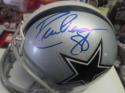 Drew Pearson Dallas Cowboys Signed Mini Helmet COA
