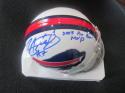 Lorenzo Alexander Buffalo Bills Signed Mini Helmet COA Inscription