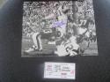 Eddie Meador Los Angeles Rams Signed 8x10 Photo COA Inscription