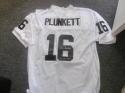 Jim Plunkett Oakland/Los Angeles Raiders Signed Replica Jersey COA SB MVP Inscrip