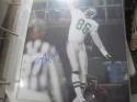 Fred Barnett Philadelphia Eagles Signed 8x10  Photo JSA