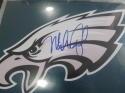 Mike Quick Philadelphia Eagles Signed 8x10  Logo Photo COA