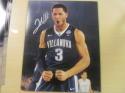 Josh Hart Villanova Wildcats Signed 8x10 Photo COA Lakers 6