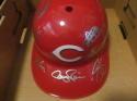 2017 Cincinnati Reds Team Signed FS Helmet COA