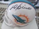 Bob Griese Miami Dolphins Signed  Mini Helmet COA