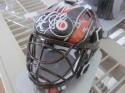 Anthony Stolarz Philadelphia Flyers Signed Mini Goalie Mask COA Inscrip