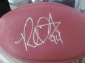 Robert Quinn Los Angeles Rams Signed Replica Football COA