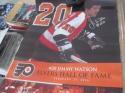 Jim Watson Signed Philadelphia Flyers HOF Night Poster COA