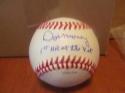 Don Money  Philadelphia Phillies Signed OLB Baseball COA Ins