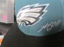 Brent Celek Philadelphia Eagles Signed Fitted Hat COA