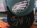 Jason Peters Philadelphia Eagles Signed Fitted Hat COA