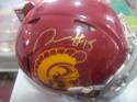 Nelson Agholor USC/Philadelphia Eagles Signed  Mini Helmet COA