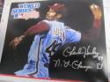Charles Hudson Philadelphia Phillies Signed 8x10 Photo COA 2 Inscription