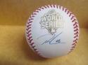 Ryan Madson Kansas City Royals Signed 2015 WS World Series Baseball COA
