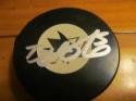 David Schelmko San Jose Sharks Signed Logo Puck COA