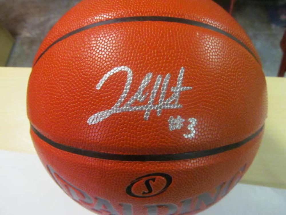 Josh Hart Villanova Wildcats/Los Angeles Lakers Signed FS NBA Replica Basketball COA