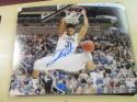 Josh Hart Villanova Wildcats Signed 8x10 Photo COA Lakers 3